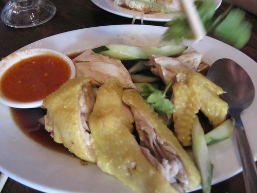Hainanese chicken, Penang