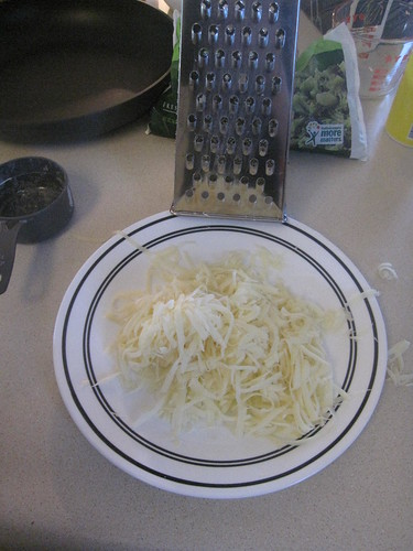 grated swiss - did we need to?