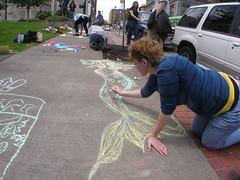 Pretty Lady drawing Mermaid