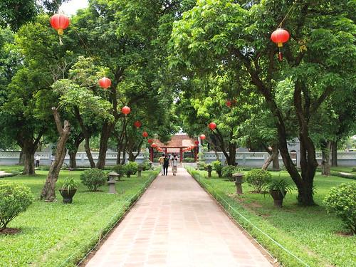越南文廟-國子監-內院