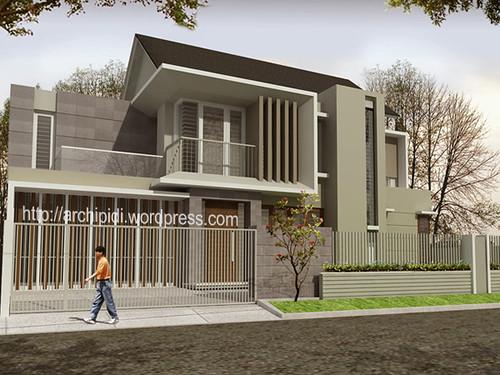 Desain Rumah Minimalis Modern Gallery ED's Jogja: desain proposal
