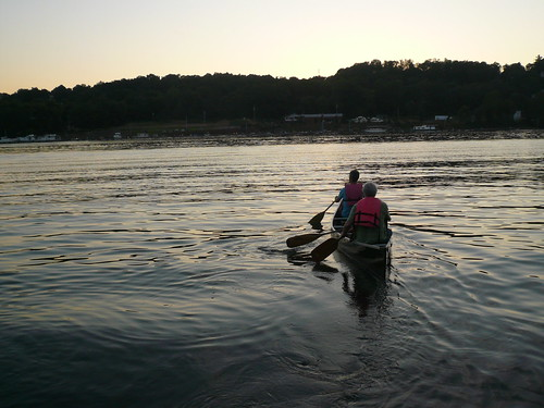 Canoe away