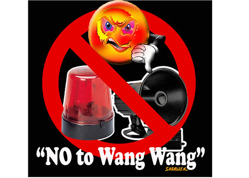 No to wang wang