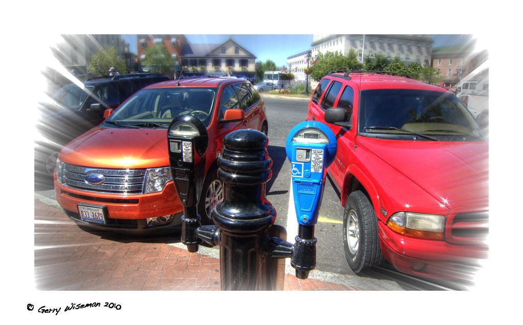 Disabled Parking Meter?