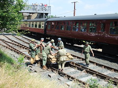 loaded up with nowhere to go (c.art) Tags: 1940s ww2 svr severnvalle