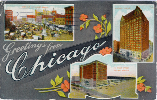 POSTCARD - Chicago 2