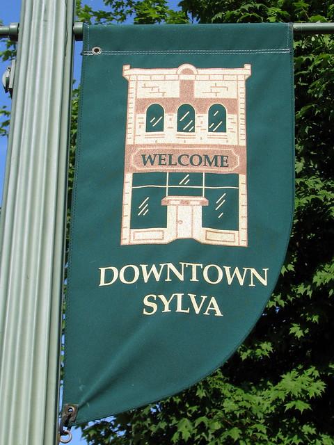 Downtown Sylva, NC Banner