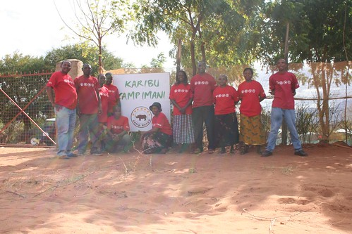 The proud team of Camp Imani