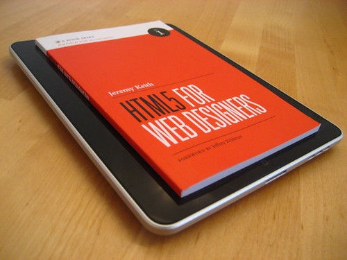HTML5 For Web Designers on the iPad
