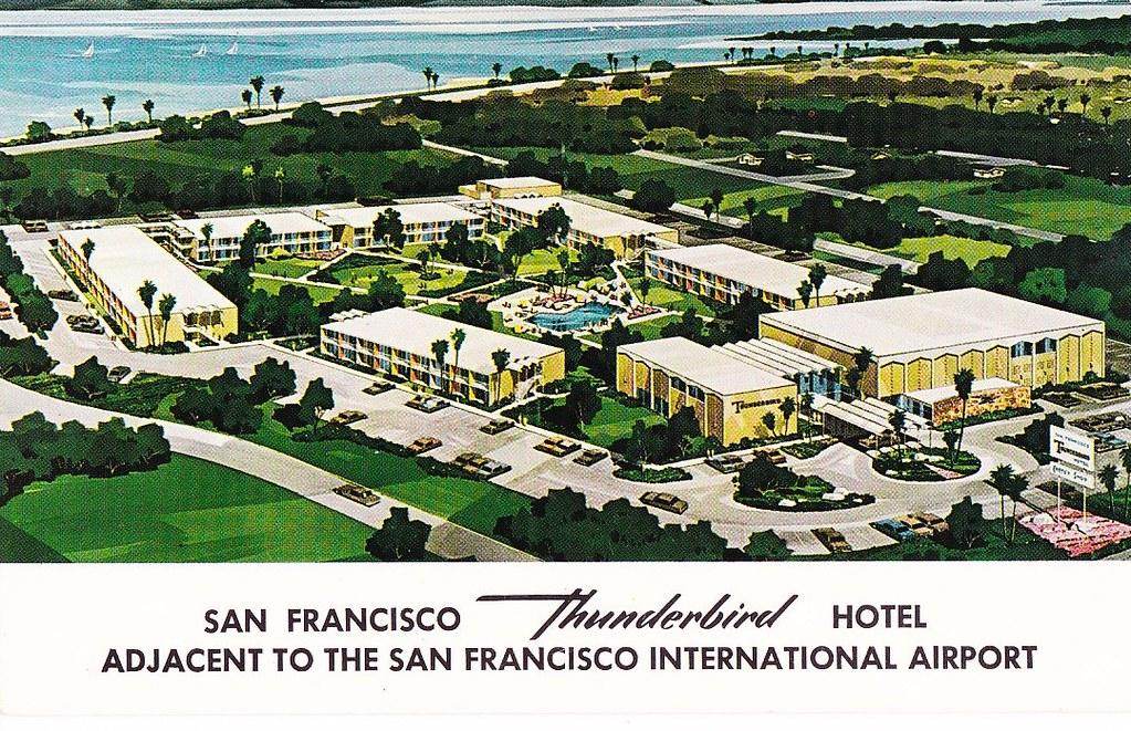Thunderbird Hotel Millbrae CA Bullitt