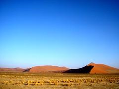 Red dunes (sara77_zid) Tags: africa blue sky sara desert blu dune cielo send namibia rosso deserto sabbia 5photosaday