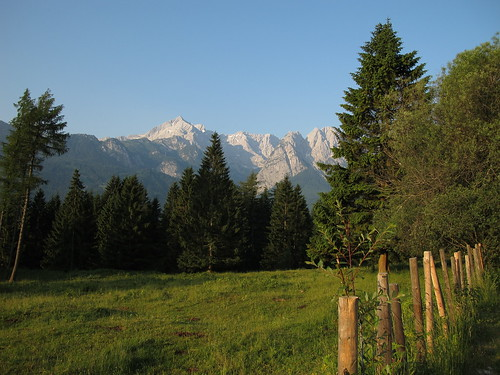 Alpspitze in der Morgensonne