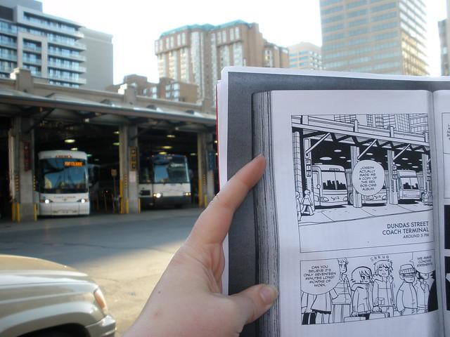 Scott Pilgrim Toronto Dundas Street Bus Coach Terminal