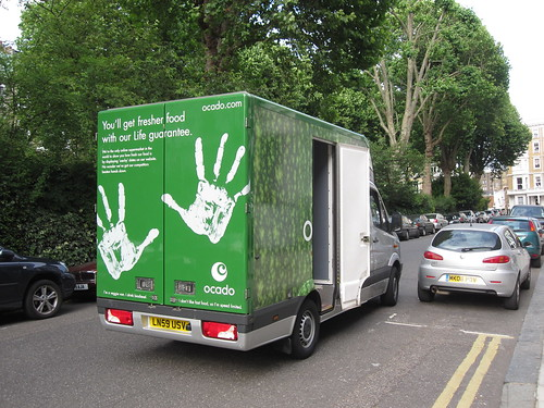 Ocado Lorry
