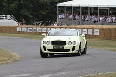 Bentley Continental Supersports Convertible at Goodwood FOS 2010 (www.Dream-car.tv) Tags: continental convertible fos bentley goodwood 2010 supersports dreamcartv