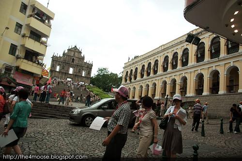 Macau - São Paulo Ruins 大三巴