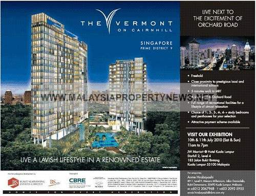 Singapore Luxury Condominium Apartment For Sale Orchard Road