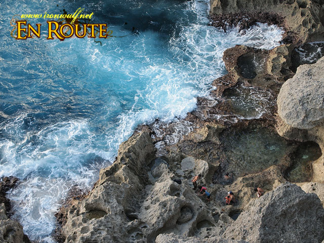 Natural Pools and Raging Waves
