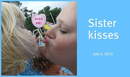 Kels & Bree kissing