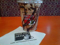 Mocha Java shake- Port City Java. YUM!