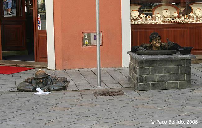 Un mimo callejero. © Paco Bellido, 2006