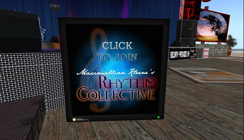join rhythm collective for max kleene concerts