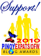 Pinoy Expats/OFW Blog Awards