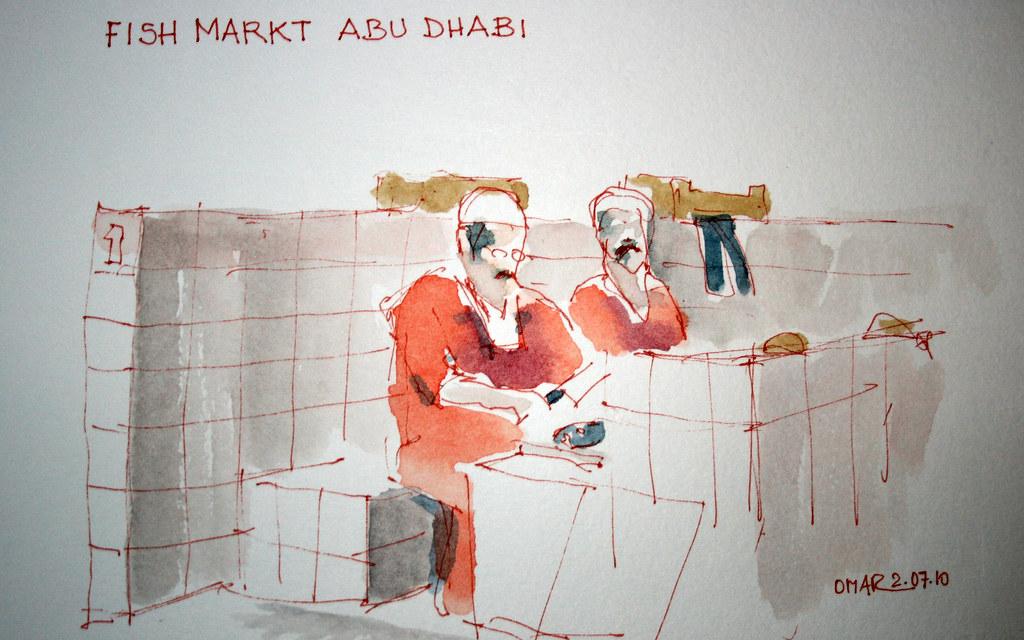 fish market Abu Dhabi