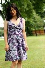 Closer! (tgirl-katie) Tags: park asian tv dress purple outdoor cd chinese formal tgirl transgender tranny casual transexual transgendered crossdresser ts tg transsexual ladyboy purpledress workclothes  m2f    newhalf