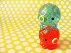 Takochu (cry5tal) Tags: cute japan glitter toy acrylic mini kawaii figure octopus takochu