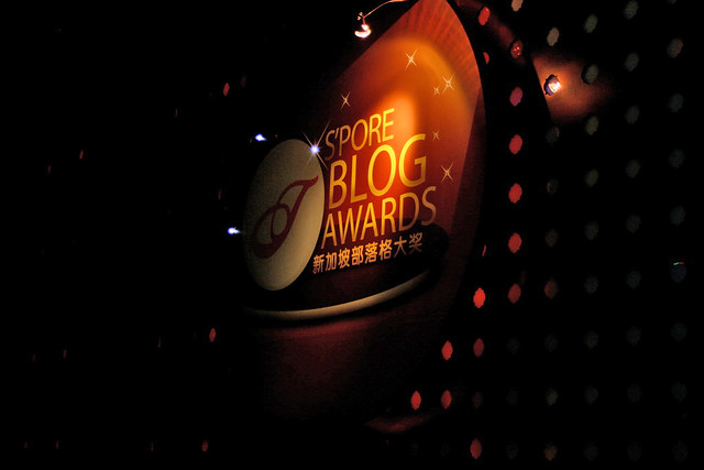 The Singapore Blog Awards 2010 was held at Movida, St James Power Station