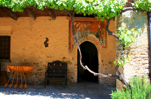 Affreschi castello Bagnolo Piemonte