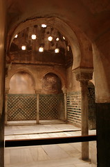 Comares-Bad in der Alhambra, Granada, Andalusien