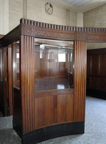 Wood Paneled Office in Lone Star Gas Co. Building