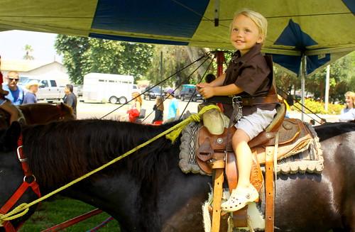 1st pony ride