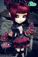 Pullip Lonely Queen (Suemomo) Tags: october doll alice queen groove lonely pullip euphoria lunatic 2010 plasticpop