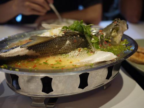 瓦城 - 清蒸檸檬魚