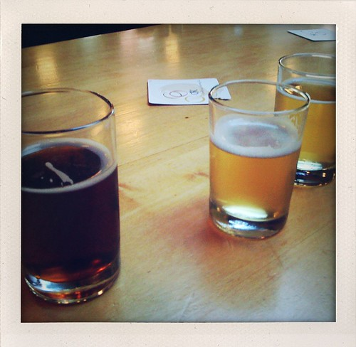 Beer tasting at CBC