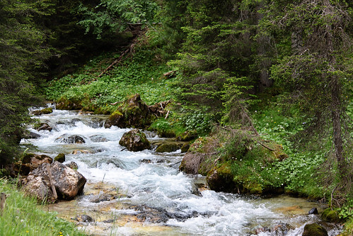 malga hike river