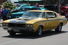 1970 Buick GSX (osubuckialum) Tags: auto columbus ohio classic cars car yellow buick automobile muscle july hotrod oh 1970 custom 70 gs carshow gsx streetrod musclecar 2010 goodguys ohiostatefairgrounds