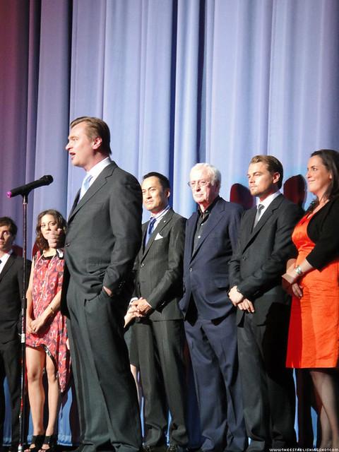 Inception World Premiere: Chris Nolan & cast Introduces Inception by Craig Grobler