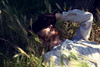 Thecutestcowboy (Dwam) Tags: summer portrait sun paris field hat shirt ginger cowboy redhead gloves mrpan dwam