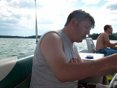 Drunk Adam (AMC81) Tags: friends lake chicago beer swim relax fun boat play weekend michigan lounge annual goodtimes