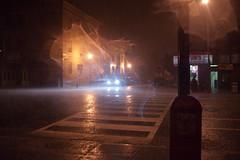 Rain, finally. (Alex Barth) Tags: light water rain washingtondc dc dcist 14thstreet carheadlights rainonthestreet rainbynight