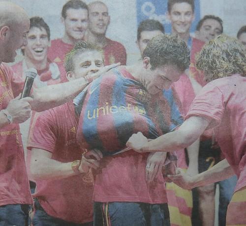 Cesc Fàbregas- Camiseta Barça