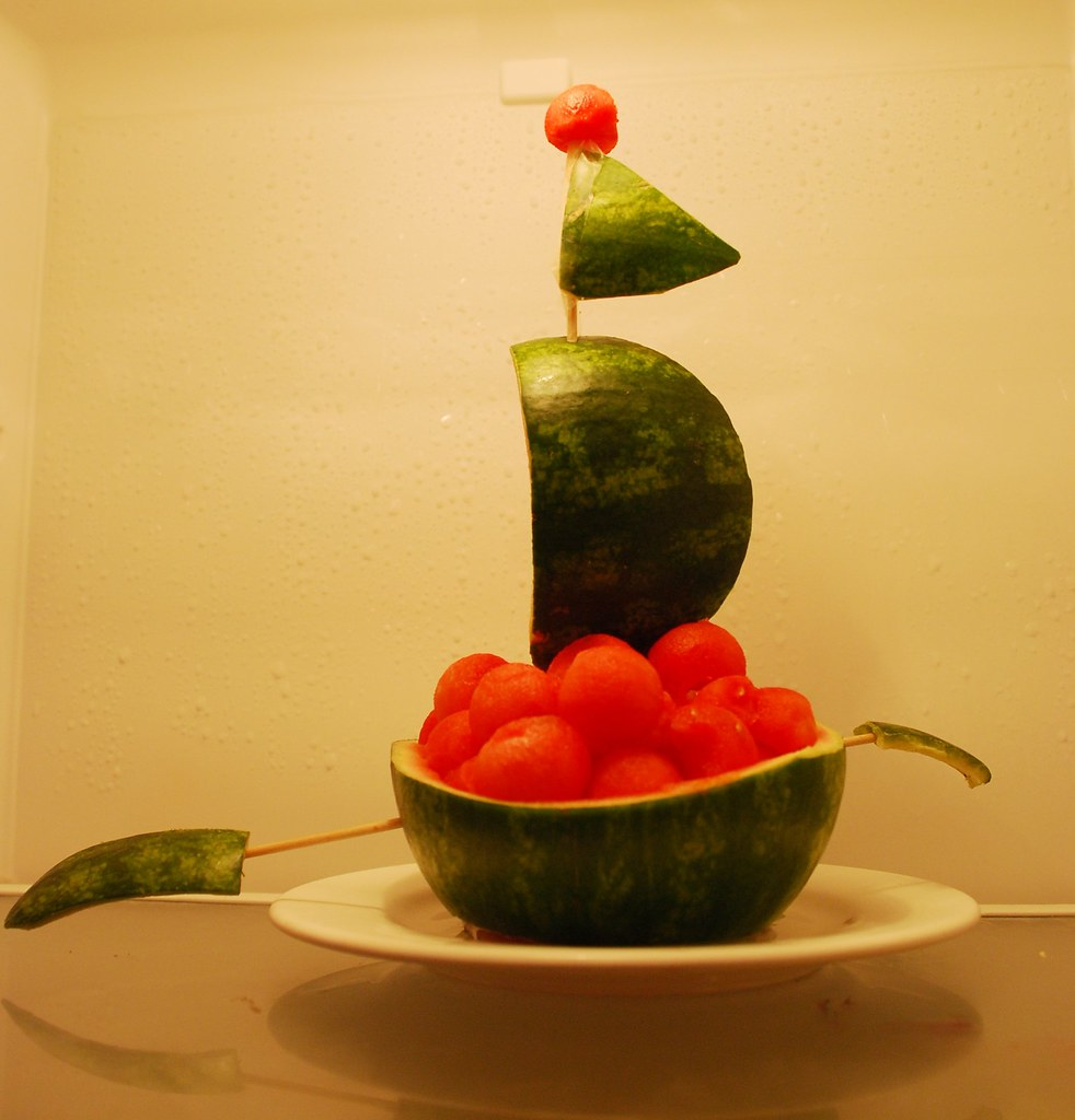 Watermelon ship