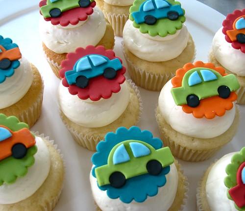 Car Cupcakes