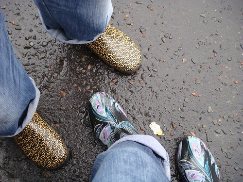 T in the Park 2010 - clean wellies