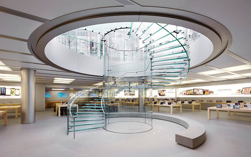 Shanghai Apple Store by Roy Zipstein