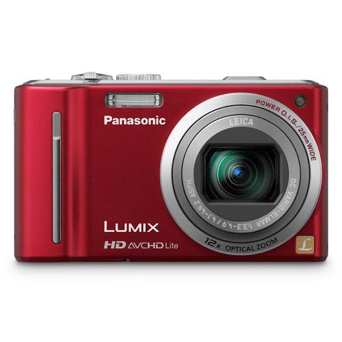Câmera Digital Panasonic DMC-ZS7 10.1 Megapixels Vermelha